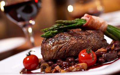 bielkoviny v potravinách - steak