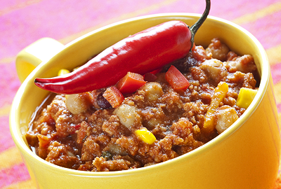 diétny recept - cícer a chilli