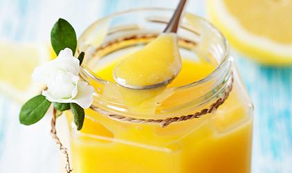 citrónový puding
