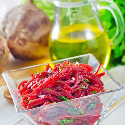 diétny recept - cviklový šalát