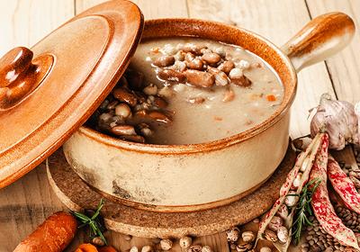 diétny recept - fazuľková polievka