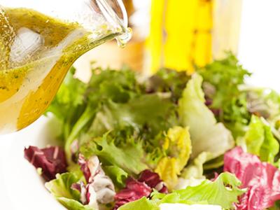 diétny recept - miešaný zelený šalát
