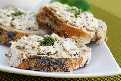 diétny recept - paštéta z makrely