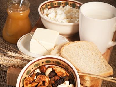 diétny recept - syrovo-orechový bochník