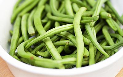 diétny recept - zelená fazuľka