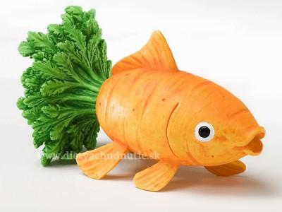mrkvová rybička