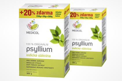 nápoj na chudnutie - psyllium