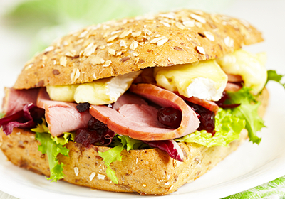 zdravé raňajky - sendvič