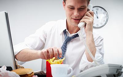 ako schudnúť a nepribrať na pracovisku