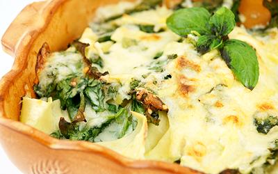 diétny recept - ricotta so zeleninou