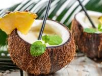 kokosový koktail s protizápalovým účinkom
