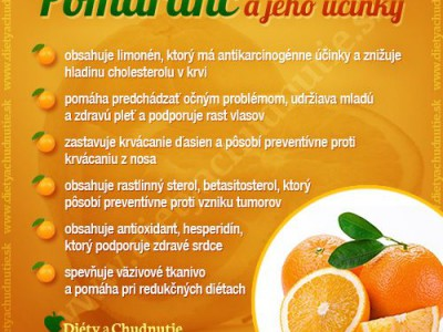 pomaranč a jeho účinky na chudnutie a zdravie