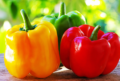 zdroje vitamínu c - paprika